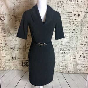 Antonio Melani Sz 0 Black Dress, work to night